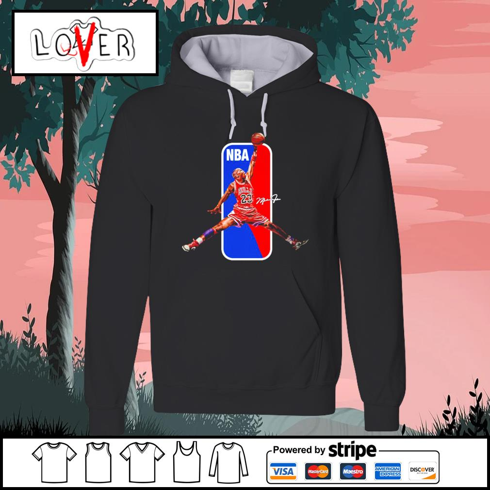 Michael Jordan Chicago Bulls NBA basketball signature Hoodie