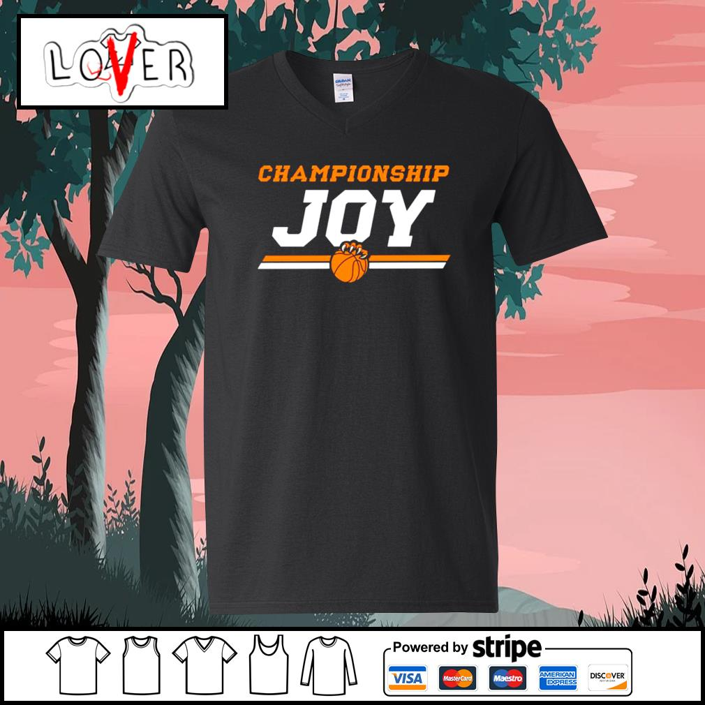 Championship JOY Baylor Bears men's basketball 2021 V-neck-T-shirt