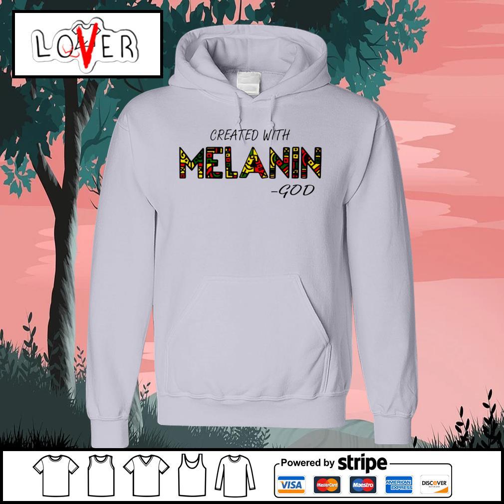 Created with Melanin God Hoodie