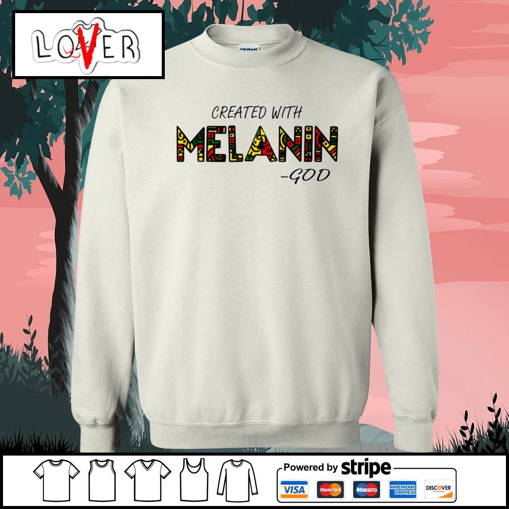Created with Melanin God Sweater