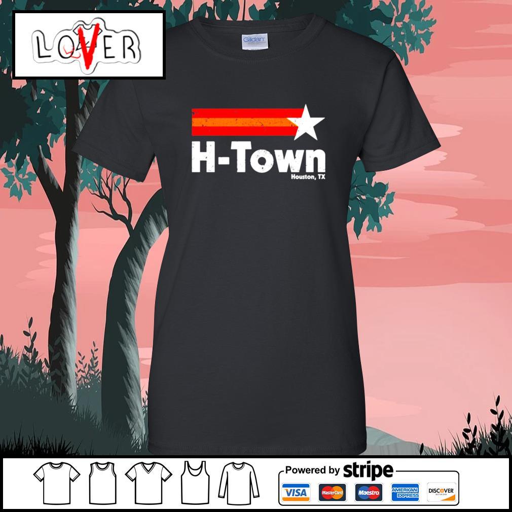 H Town Houston TX Ladies-Tee