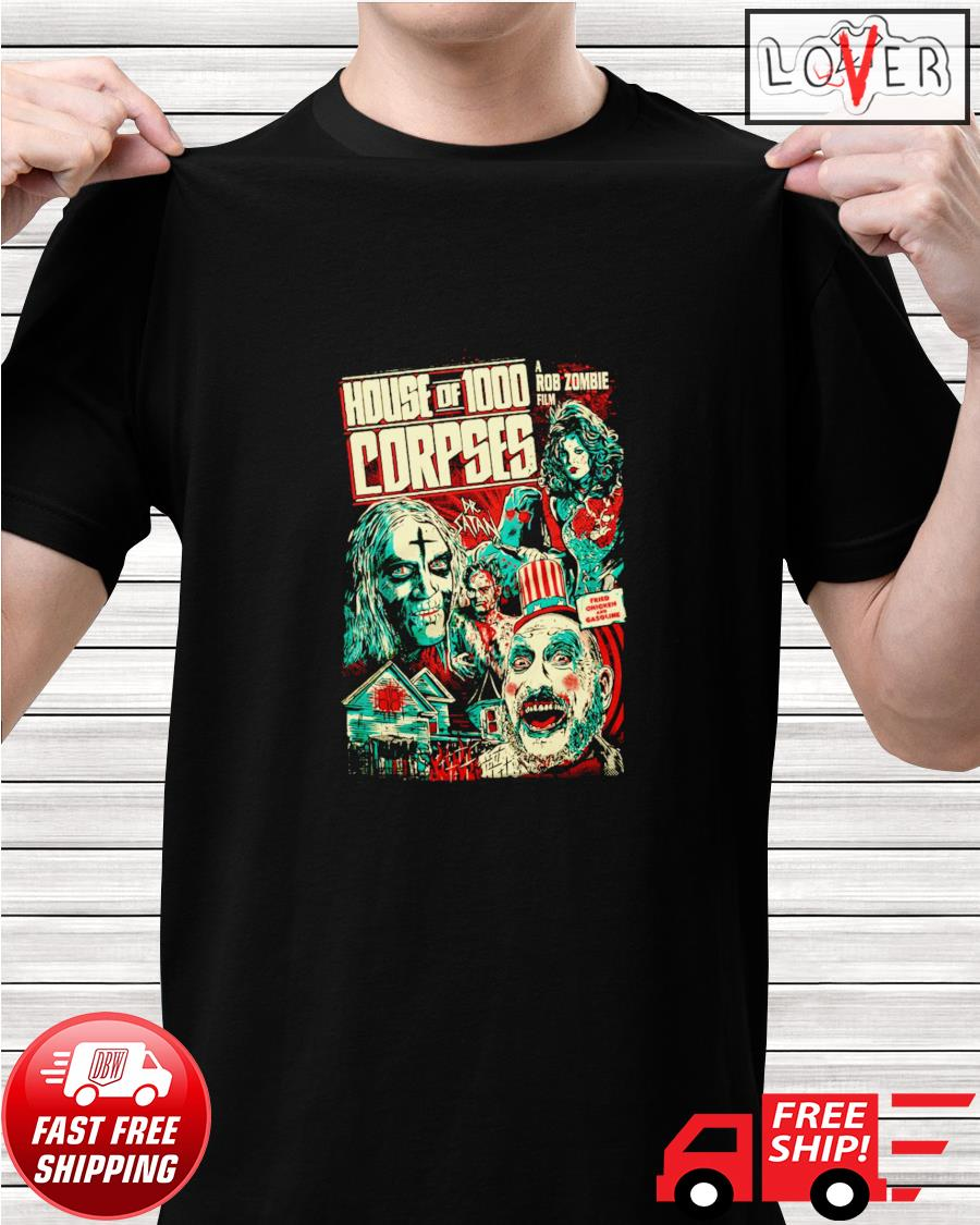 House of 1000 corpses fried chicken and gasoline shirt