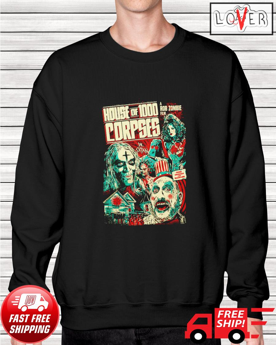 House of 1000 corpses fried chicken and gasoline sweater