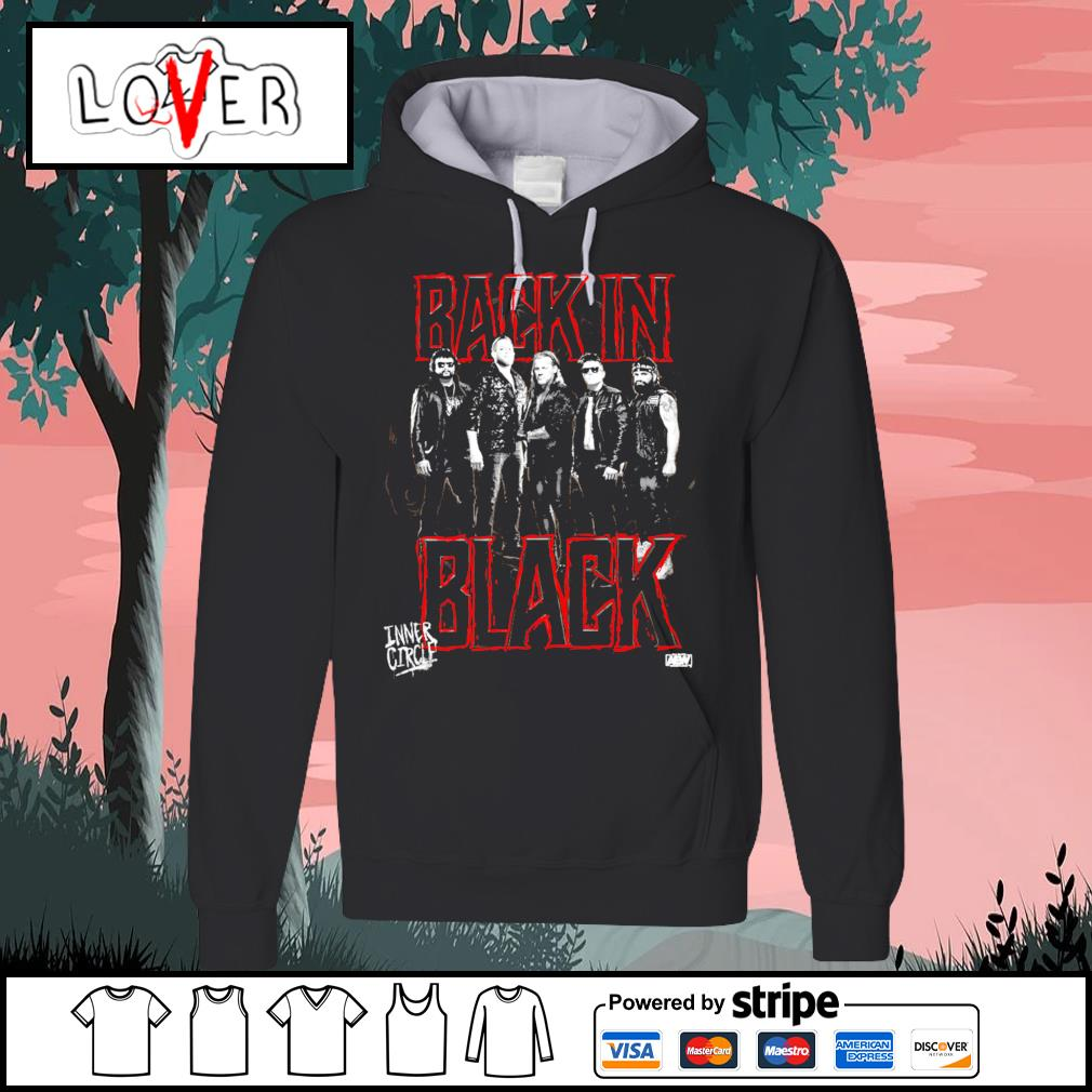 Inner Circle back in black Hoodie