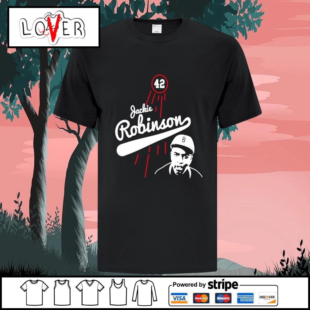 Jackie Robinson Brooklyn Dodgers shirt
