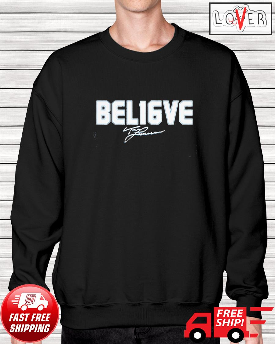 Trevor Lawrence Bel16ve signature sweater