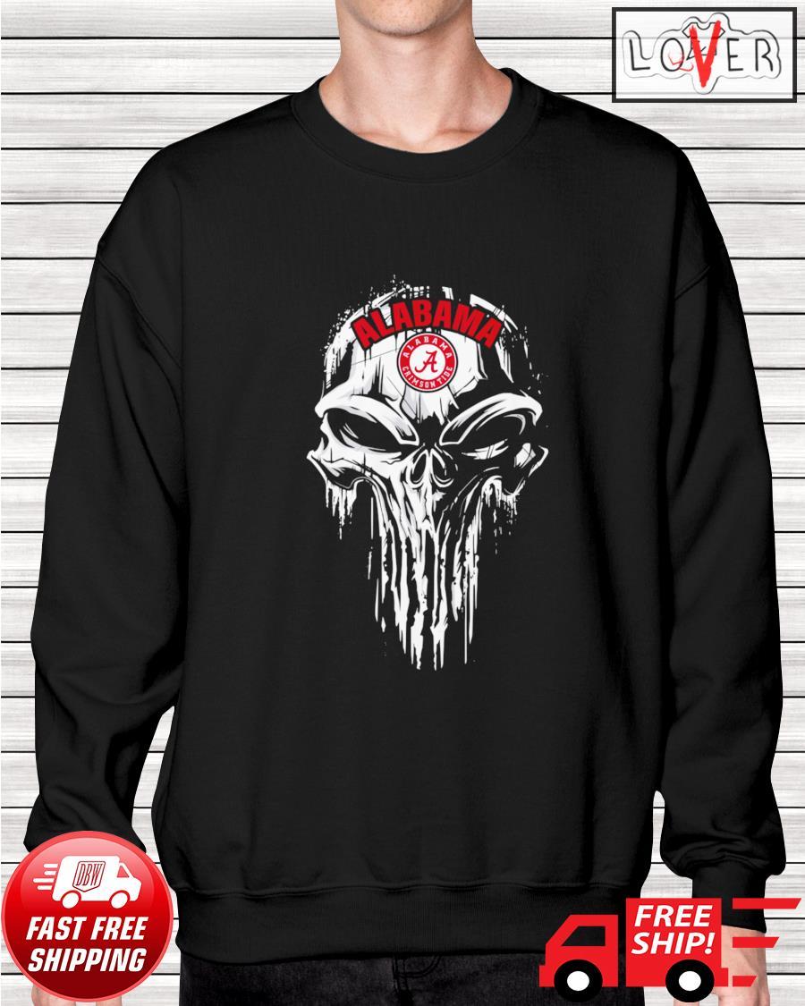 Alabama Crirmson Tide skull sweater