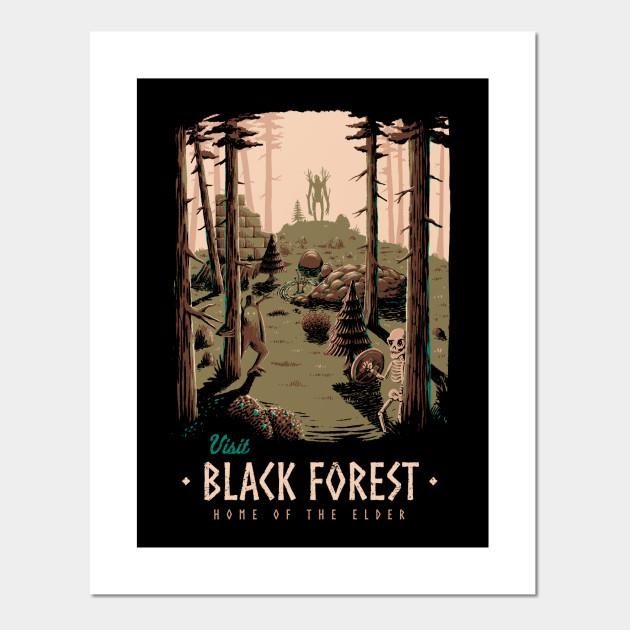 Black forest Posters and Art Prints