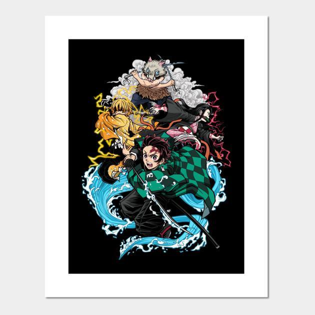 Demon Slayer Posters and Art Prints