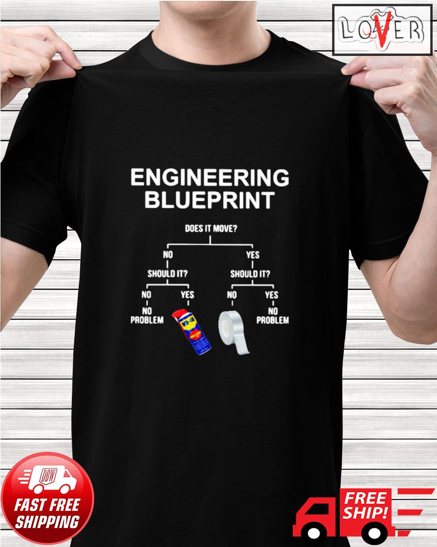 Engineering blueprint does it move shirt