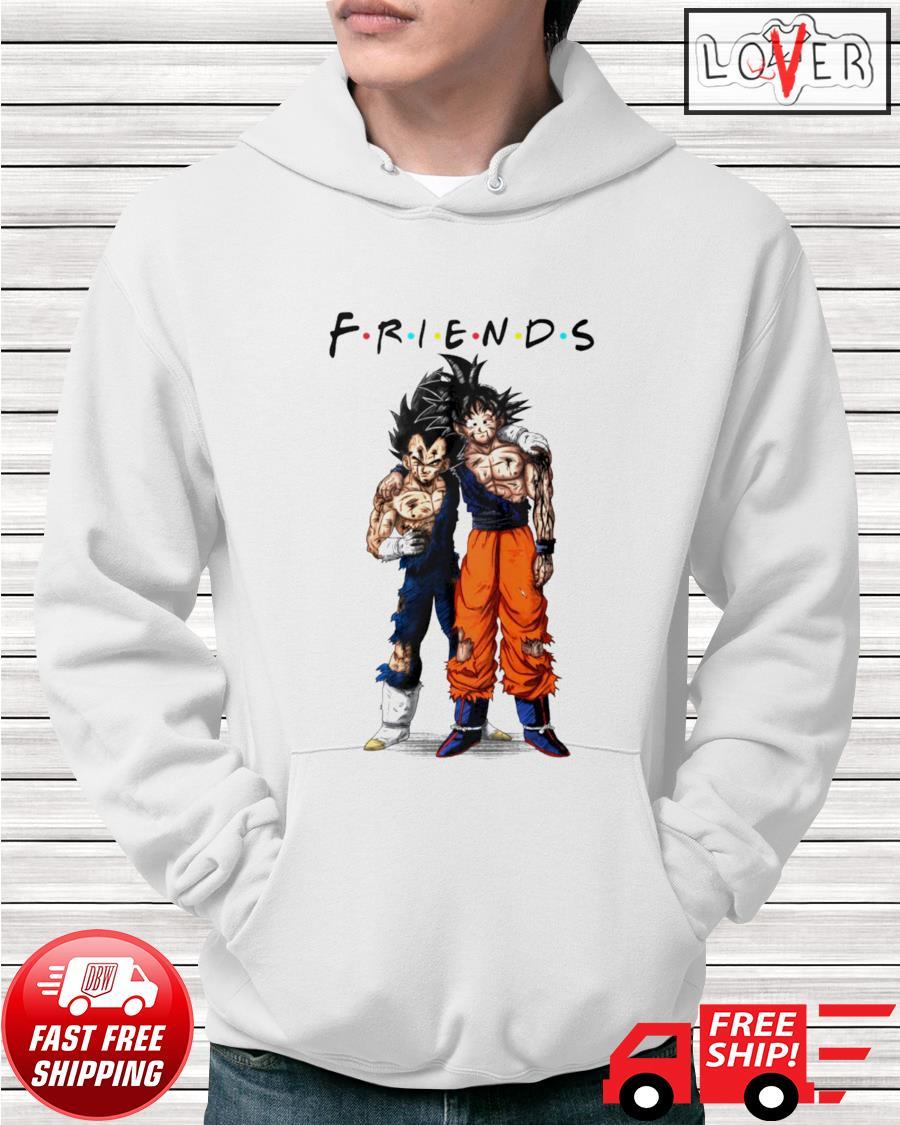 Goku and Vegeta Friends TV Show Dragon Ball hoodie