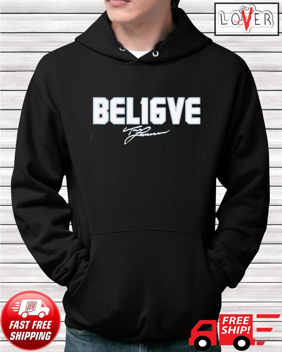 Trevor Lawrence Bel16ve signature hoodie