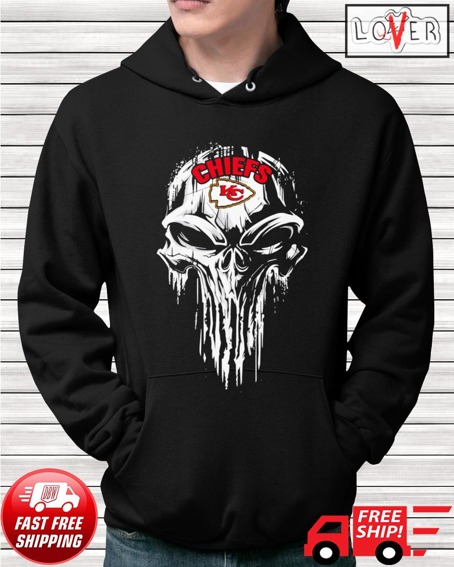 Kansas City Chiefs skull hoodie