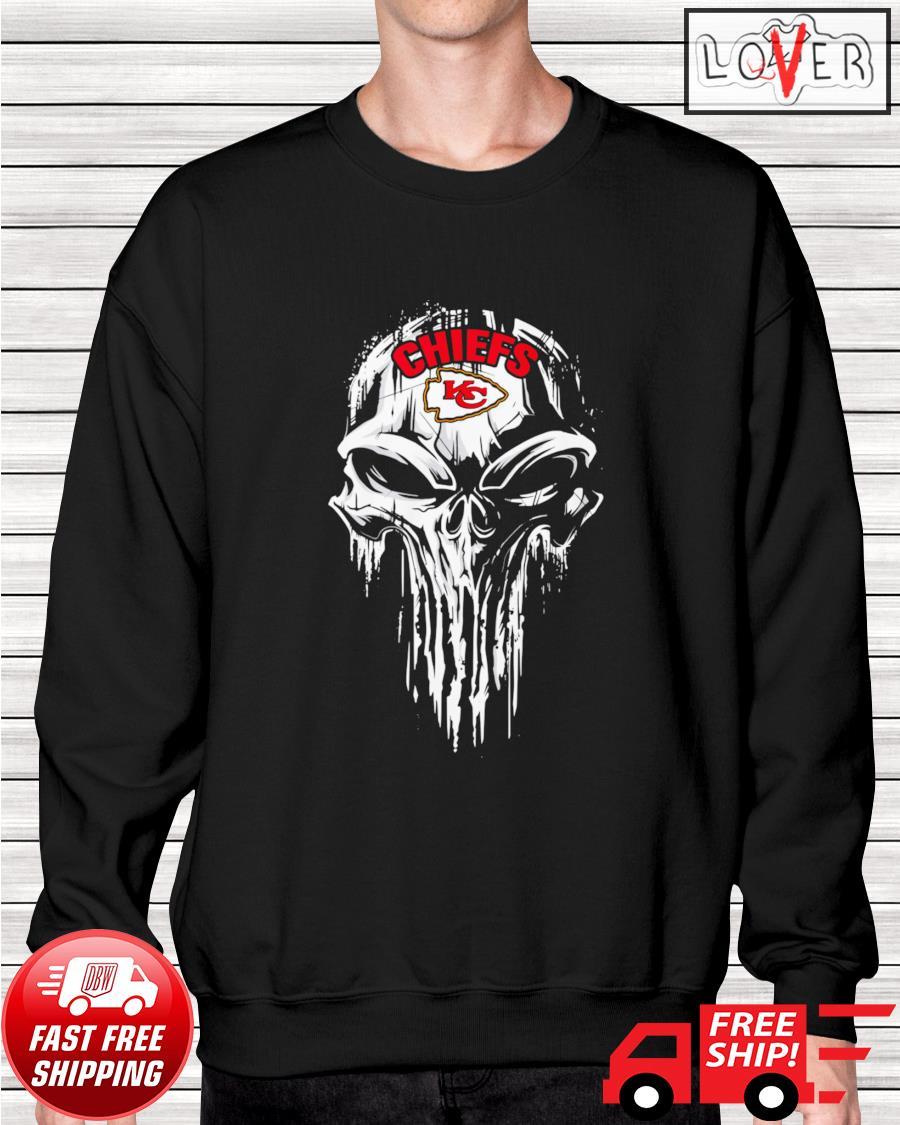 Kansas City Chiefs skull sweater