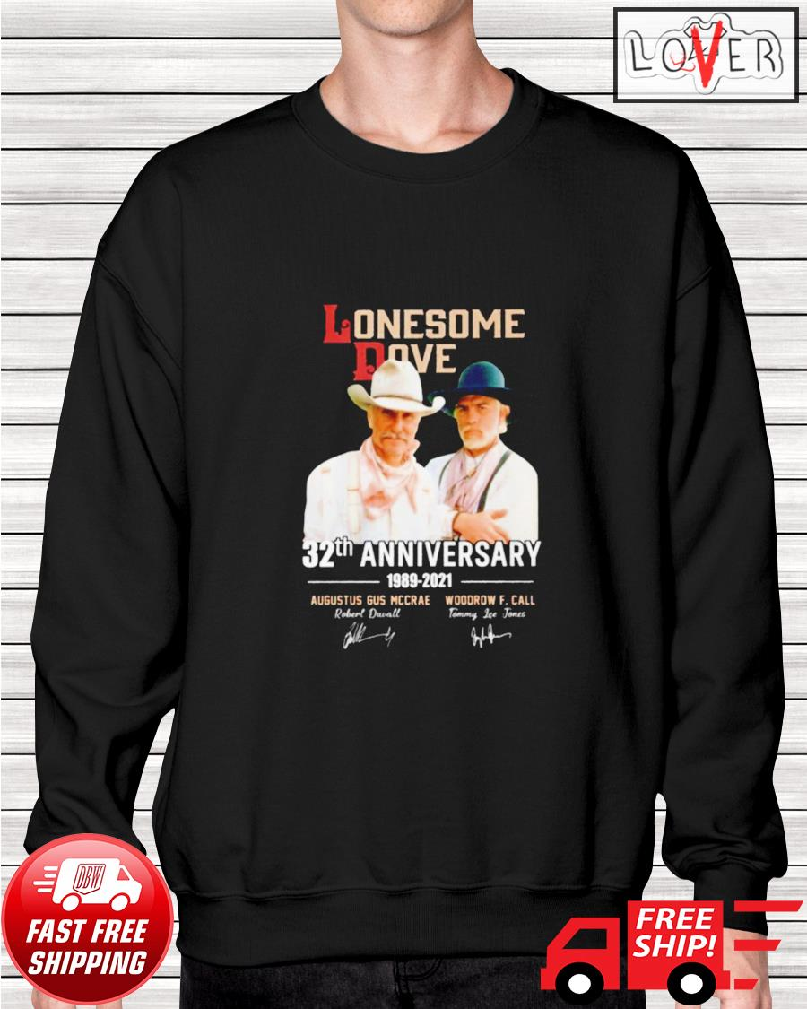 Lonesome Dove 32th anniversary 1989-2021 signatures sweater