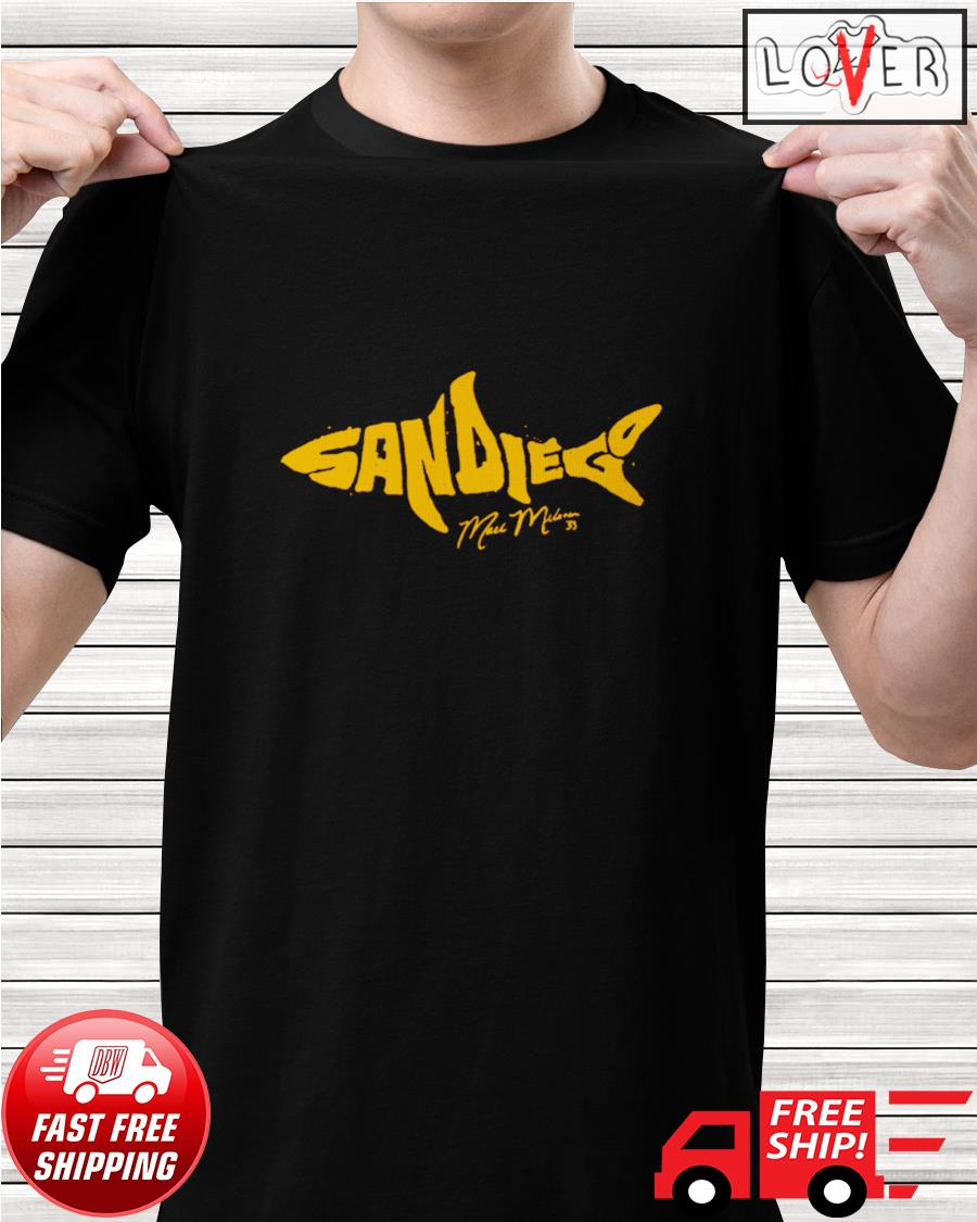 Mark Melancon The shark shirt
