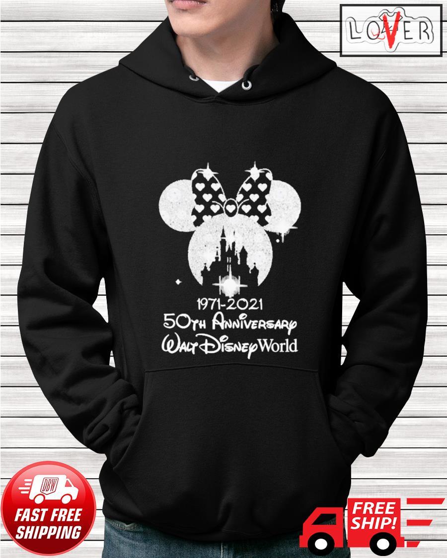 Minnie Mouse 1971 2021 50th anniversary Walt Disney World hoodie