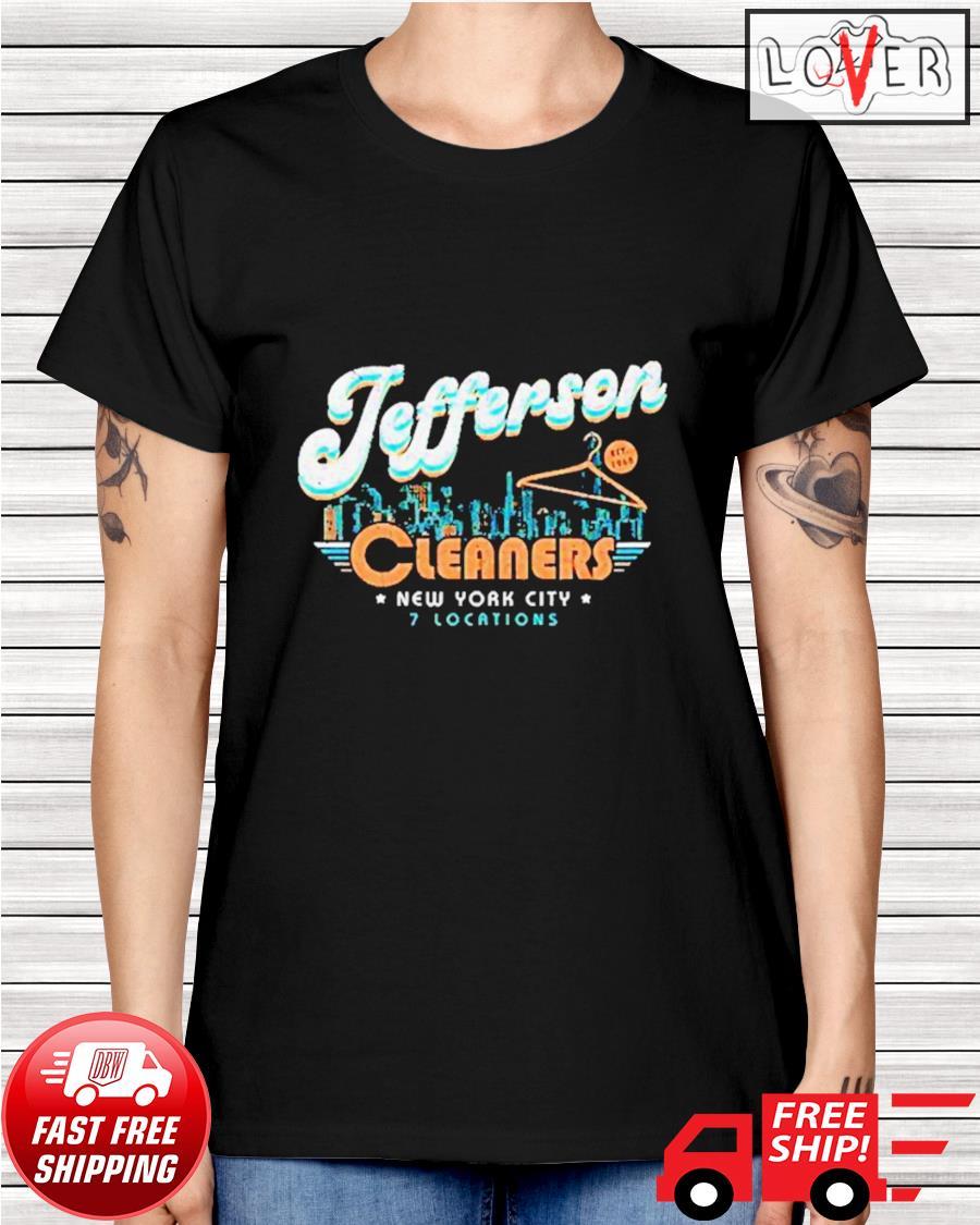 New York City Jefferson Cleaners ladies-tee