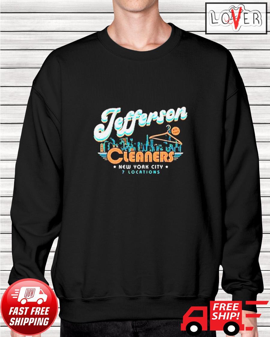 New York City Jefferson Cleaners sweater