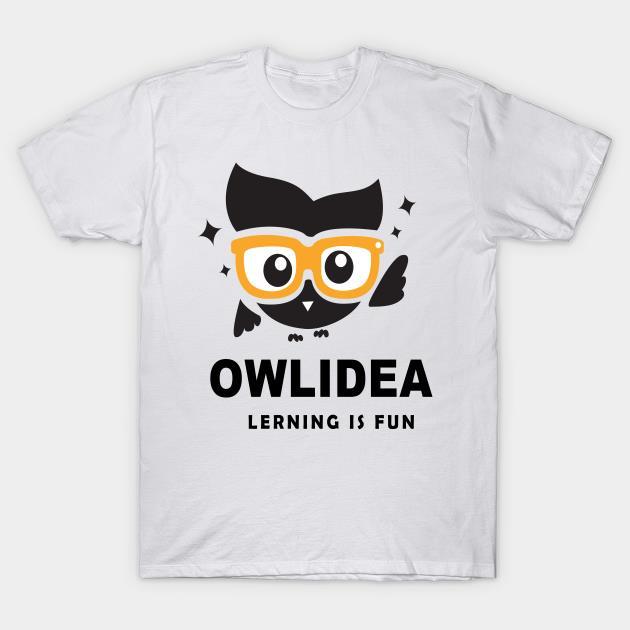 Owlidea lerning is fun shirt
