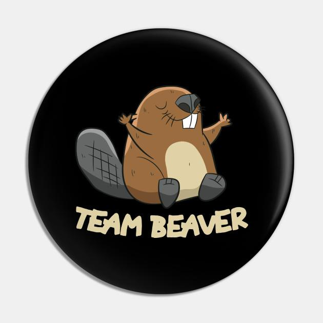 Team Beaver Pin