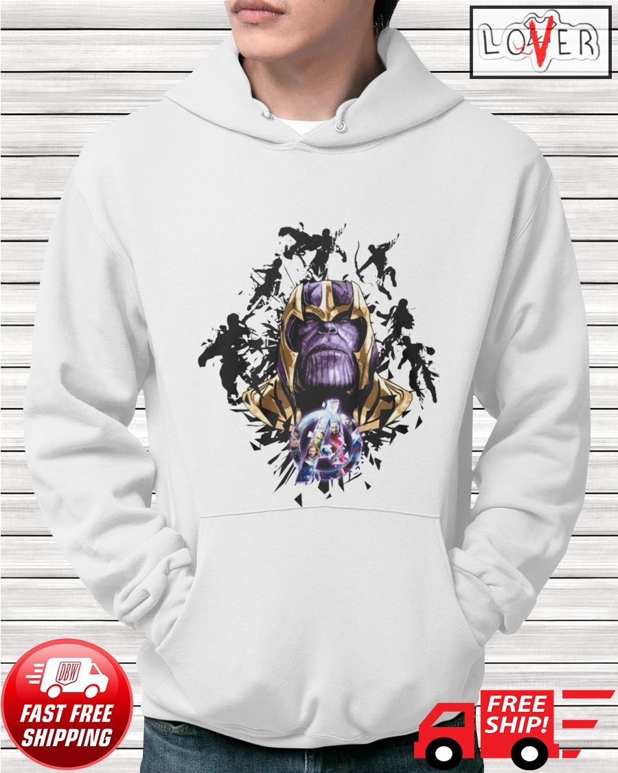 Thanos Avengers Endgame Marvel Comic hoodie
