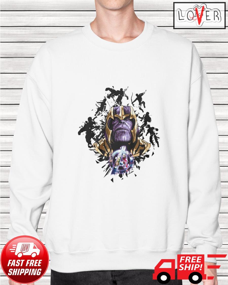 Thanos Avengers Endgame Marvel Comic sweater