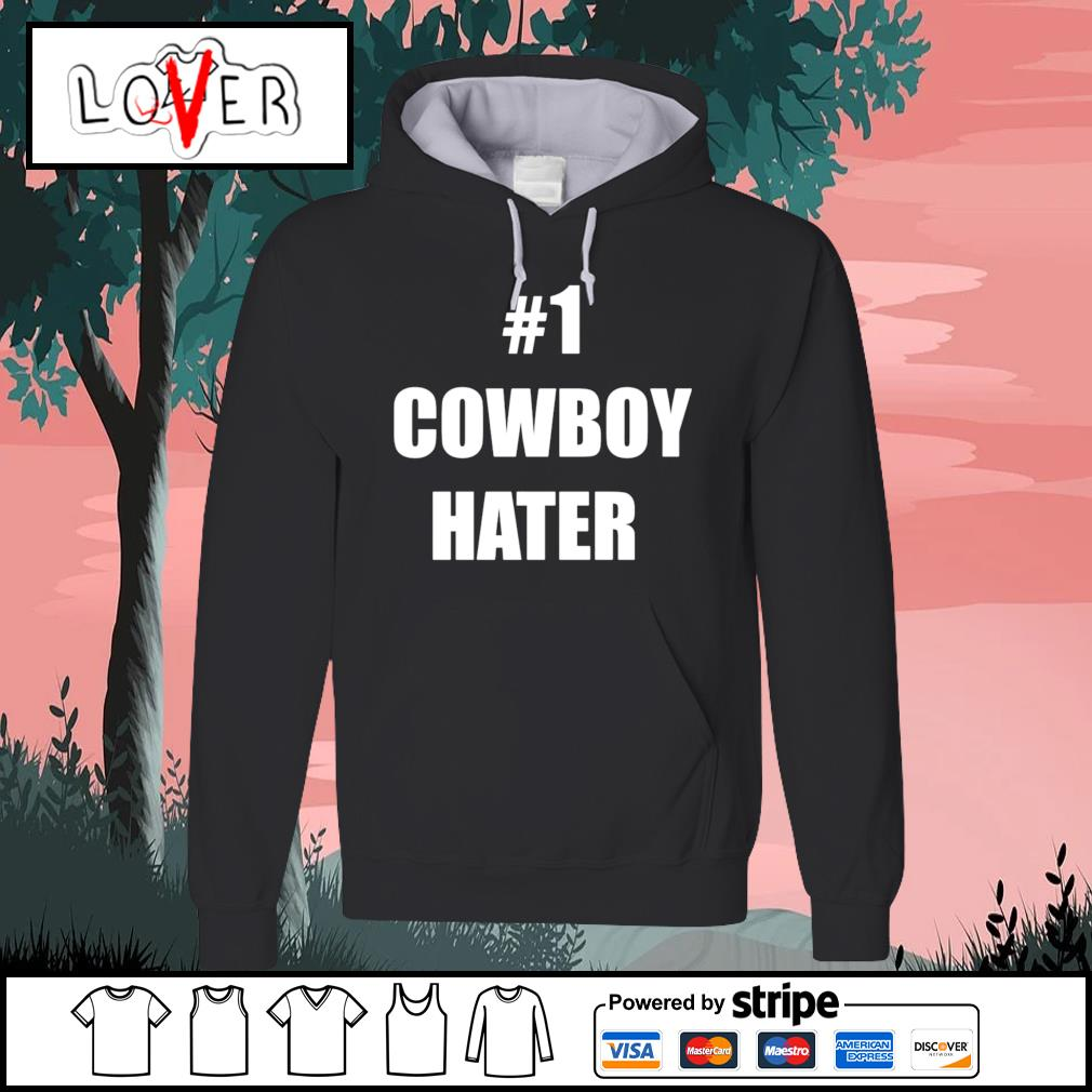#1 Cowboy Hater Houston Texans Fuck The Cowboys Hoodie
