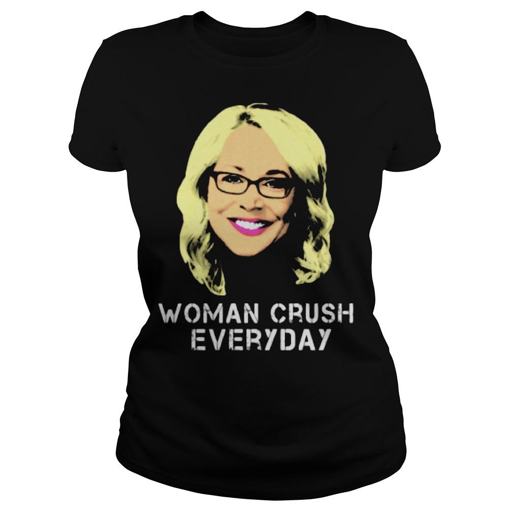 Doris Burke Woman Crush everyday ladies tee