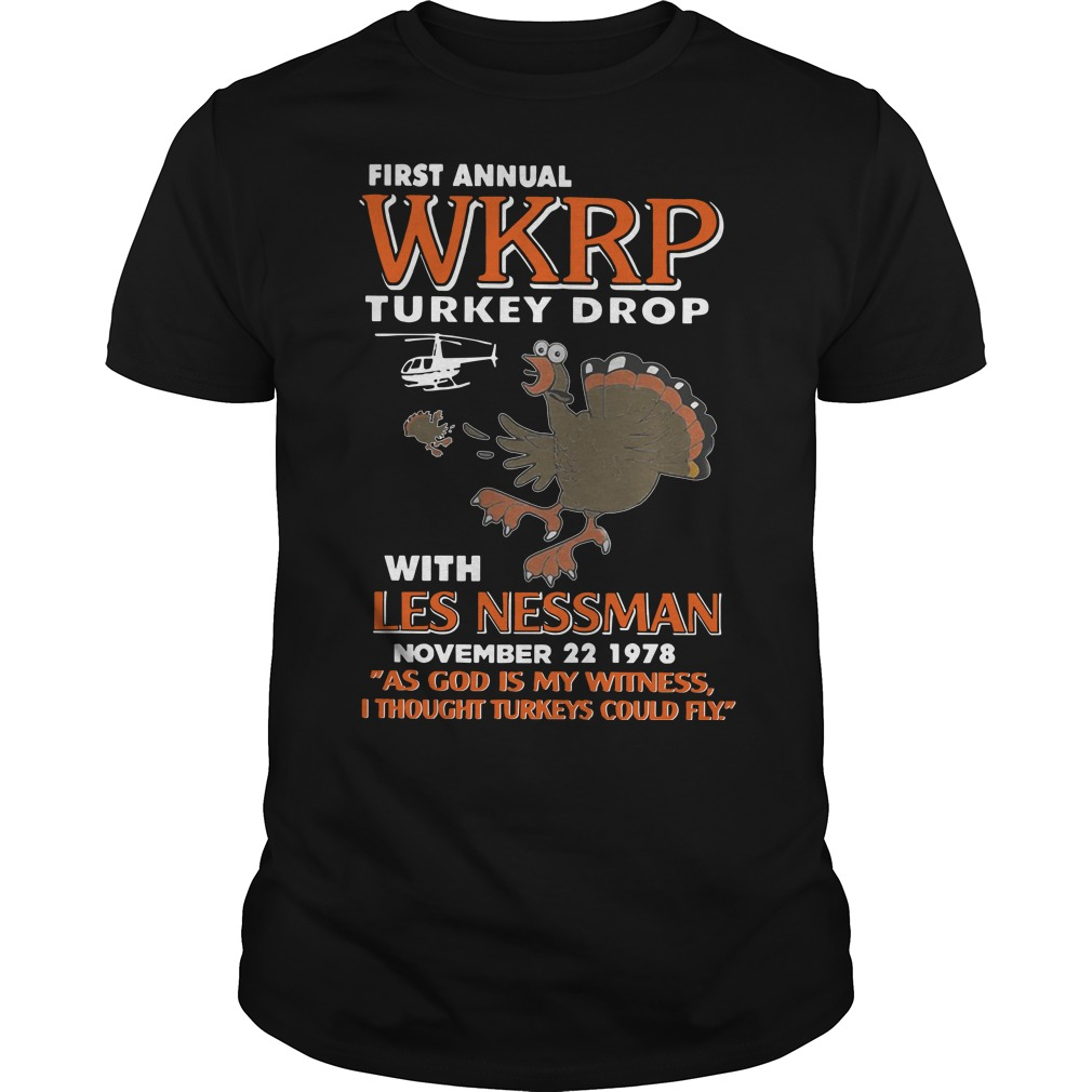 First annual WKRP Turkey drop with les nessman november 22 1978 classic guy