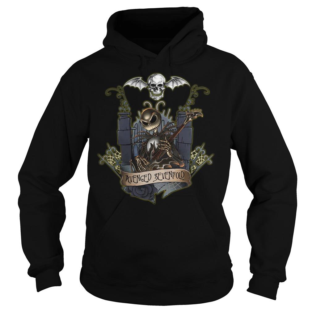 Jack Skellington Avenged Sevenfold hoodie
