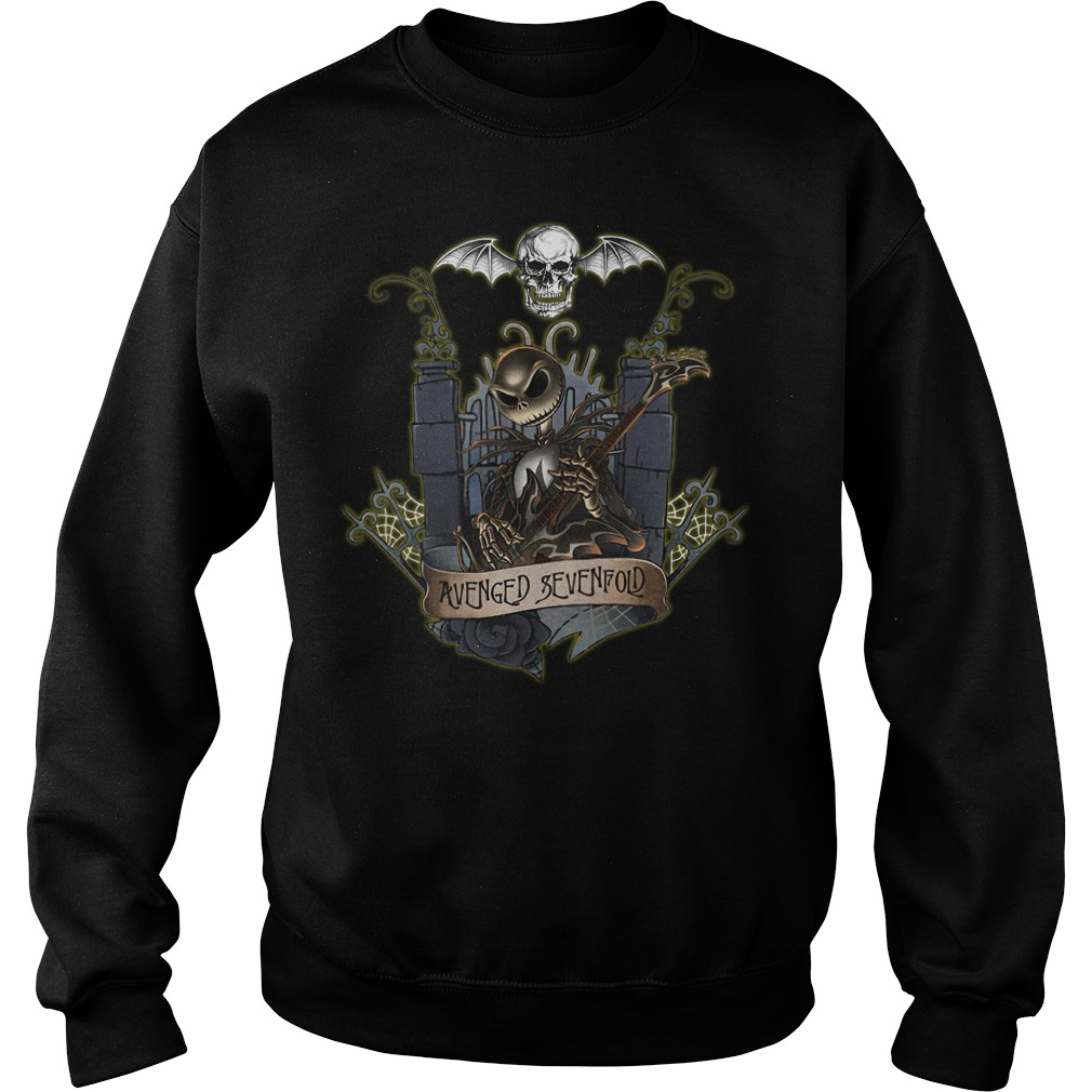 Jack Skellington Avenged Sevenfold sweater