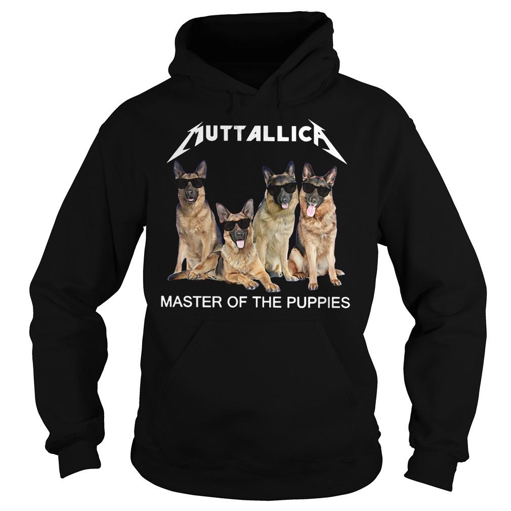 Metallica master of the Puppies hoodie