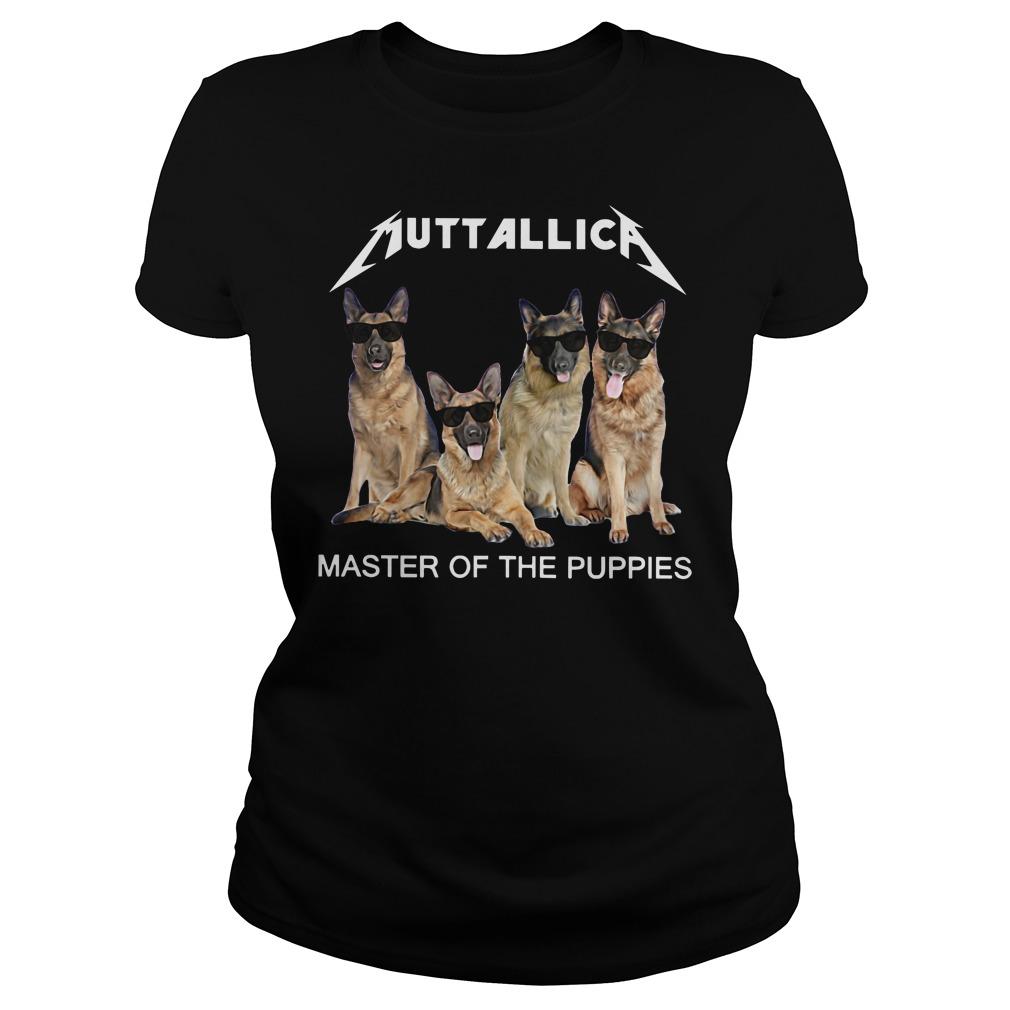 Metallica master of the Puppies ladies tee