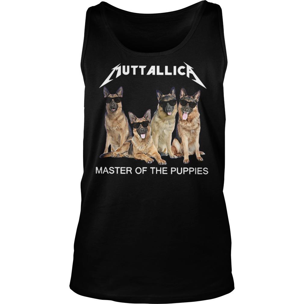 Metallica master of the Puppies tank top