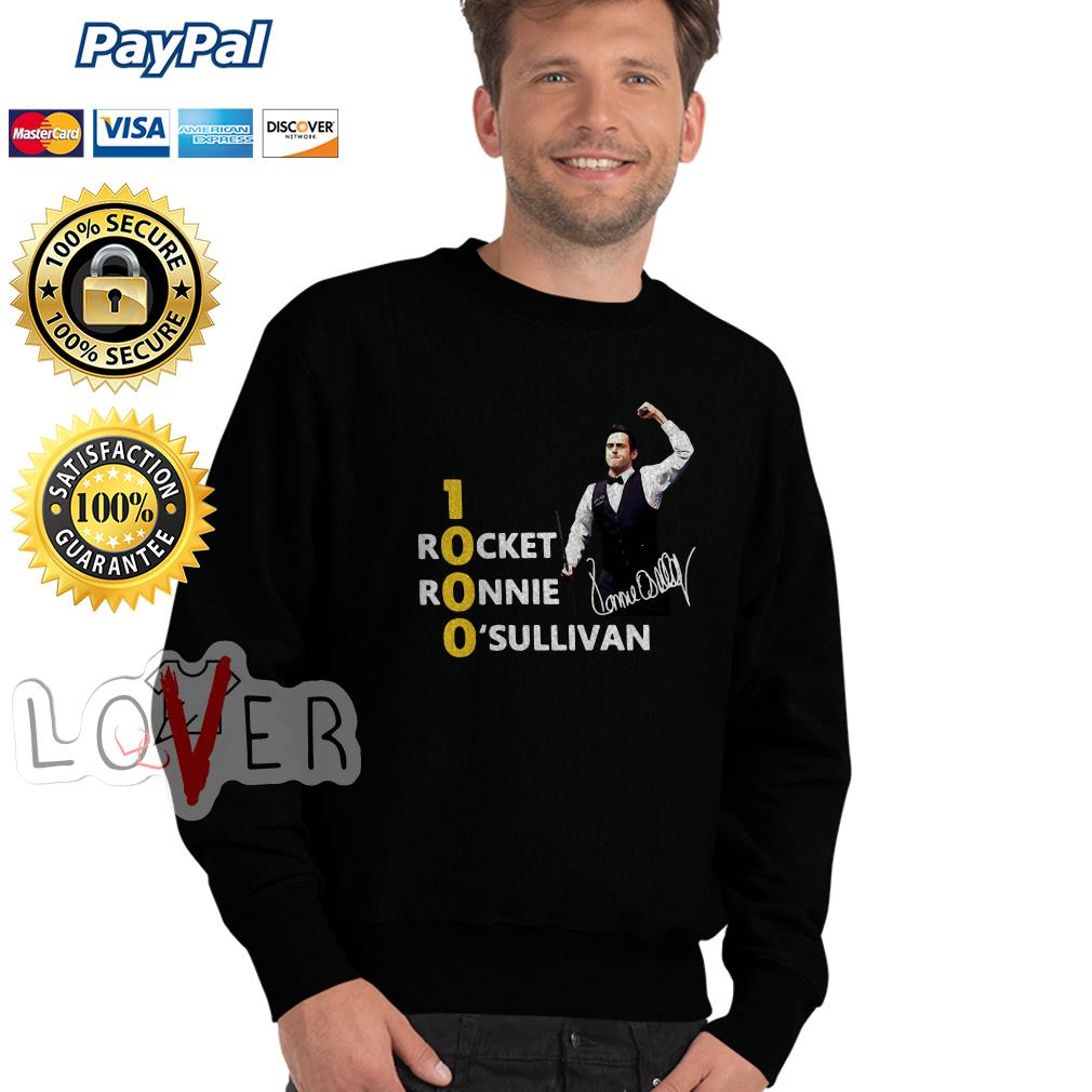1000 Rocket Ronnie O'Sullivan Sweater