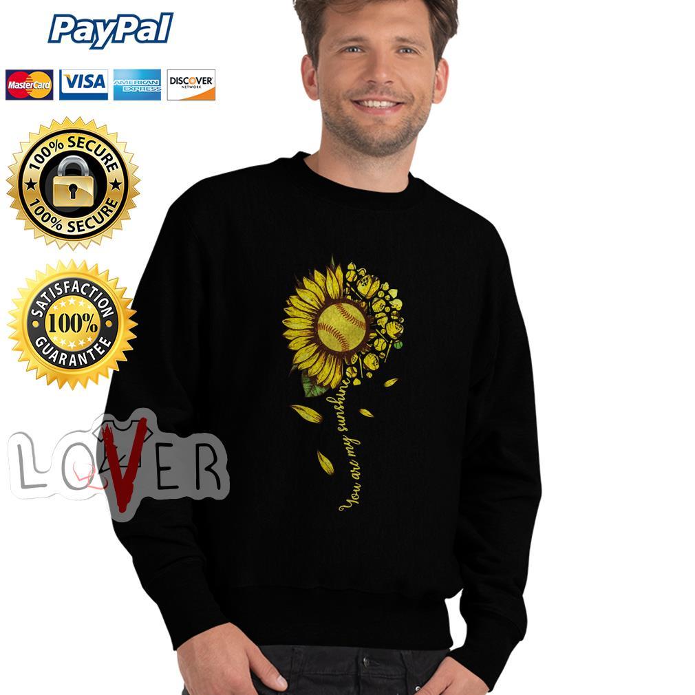 Baseball you are my sunshine Sweater