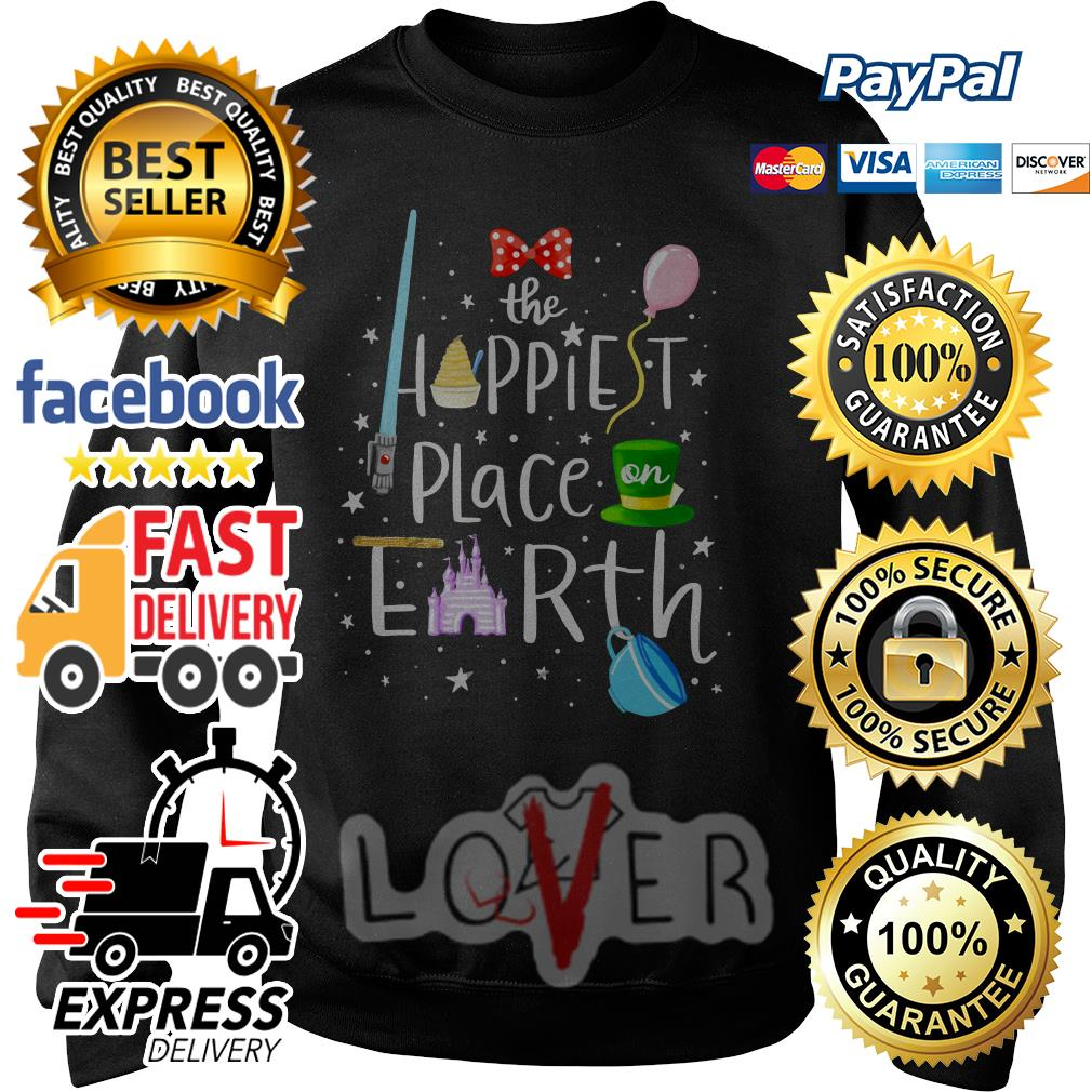Disney The happiest place on earth disney Sweater