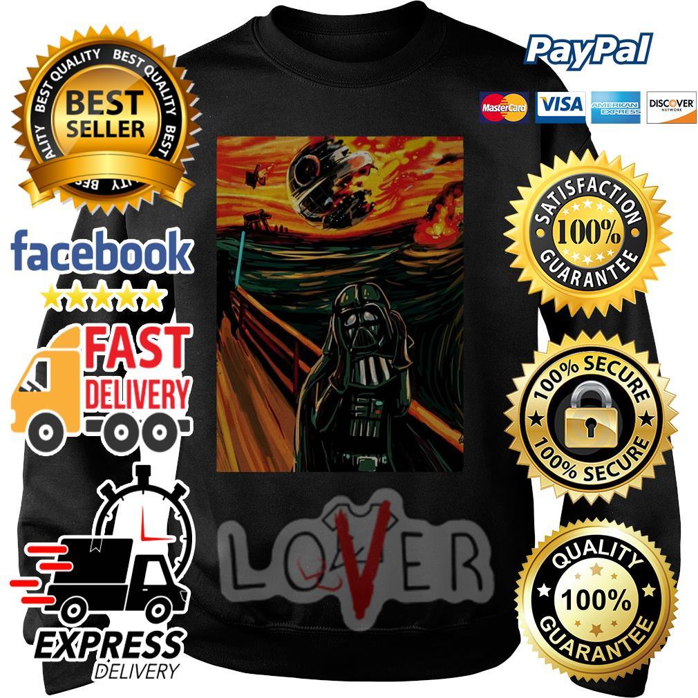 Luke Skywalker and Darth Vader Screaming painting Sweater