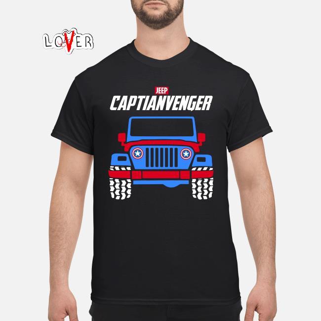 Marvel Avengers Endgame Jeep Captian Avengers shirt