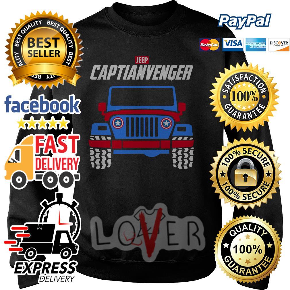 Marvel Avengers Endgame Jeep Captian Avengers Sweater