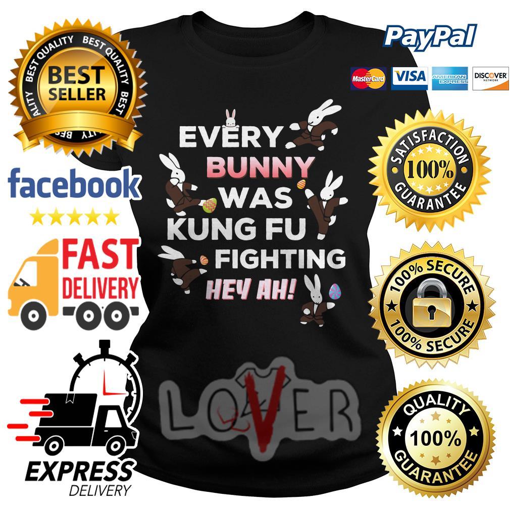 7da85aaf2 Rabbit every bunny was kung fu fighting hey ah shirt