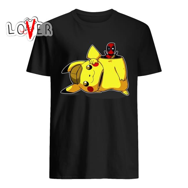 5e4fef6e Deadpool and Pikachu shirt, Hoodie, sweater and v-neck t-shirt