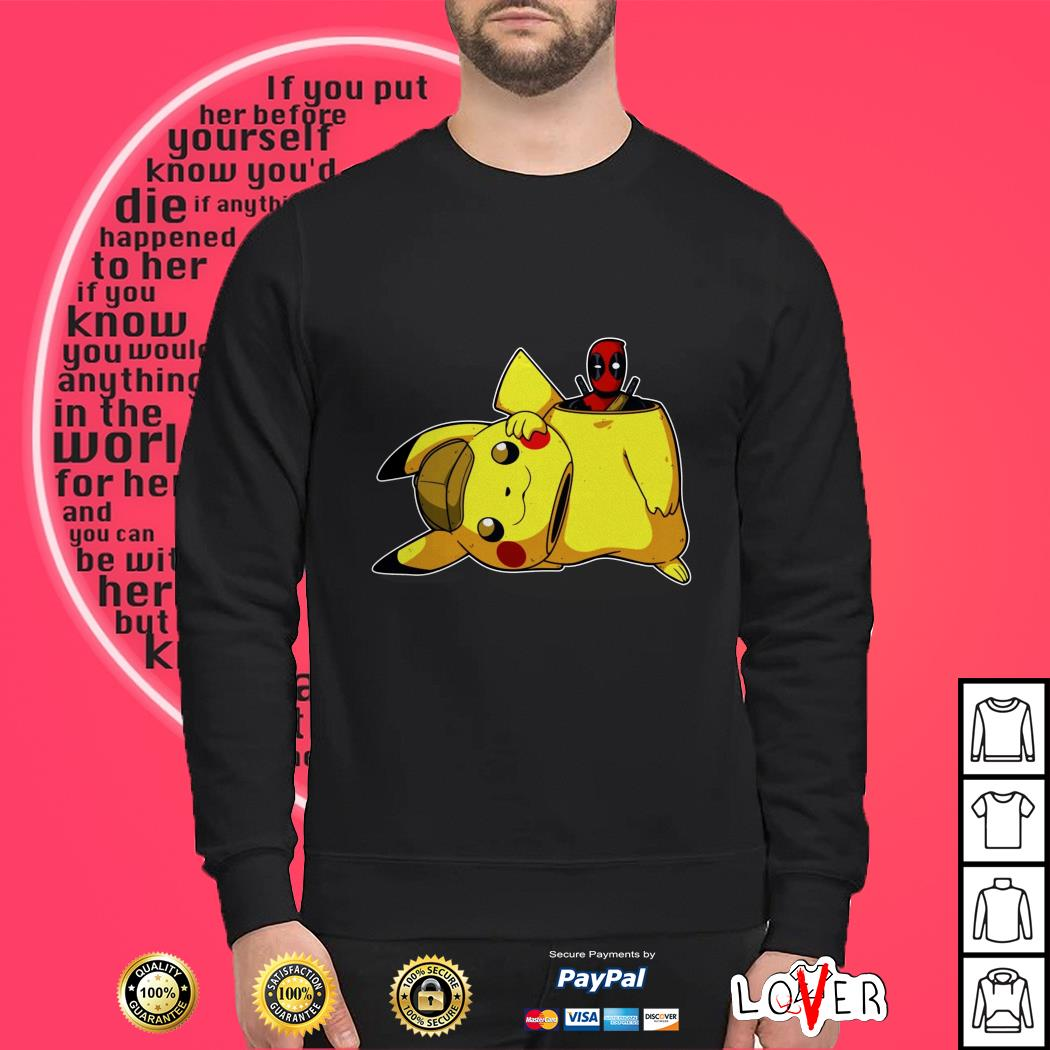 19746d09 Deadpool and Pikachu shirt, Hoodie, sweater and v-neck t-shirt