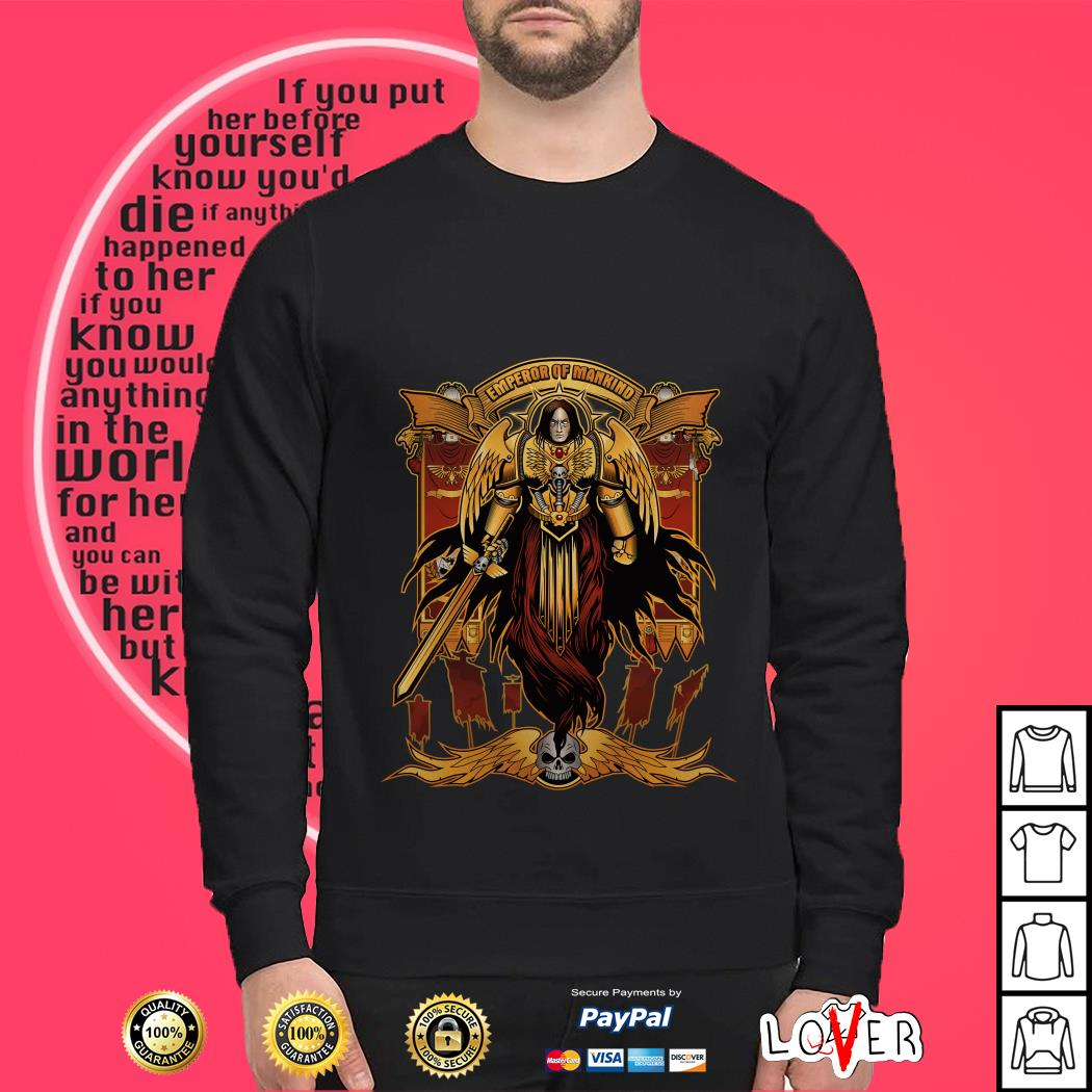 Emperor of mankind Sweater