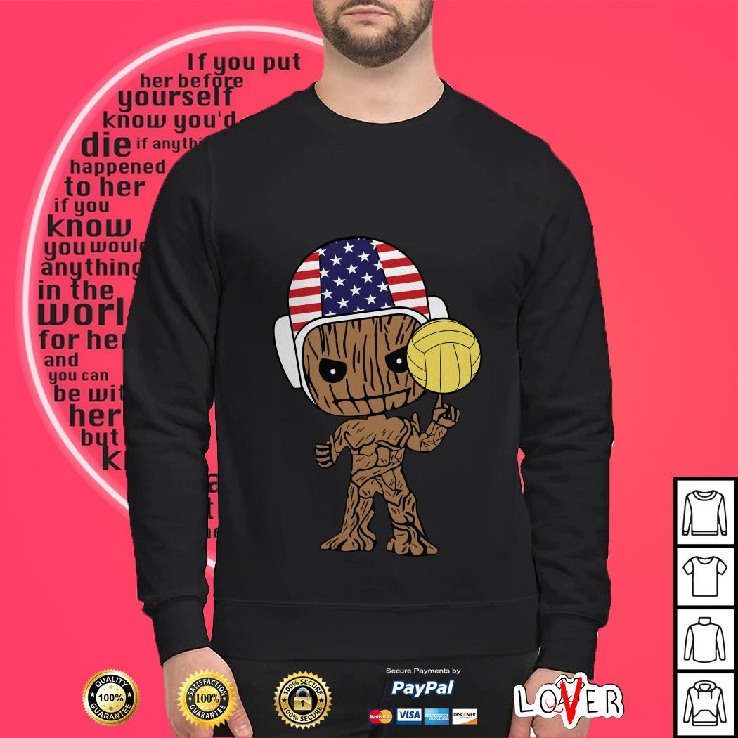Groot America volleyball Sweater