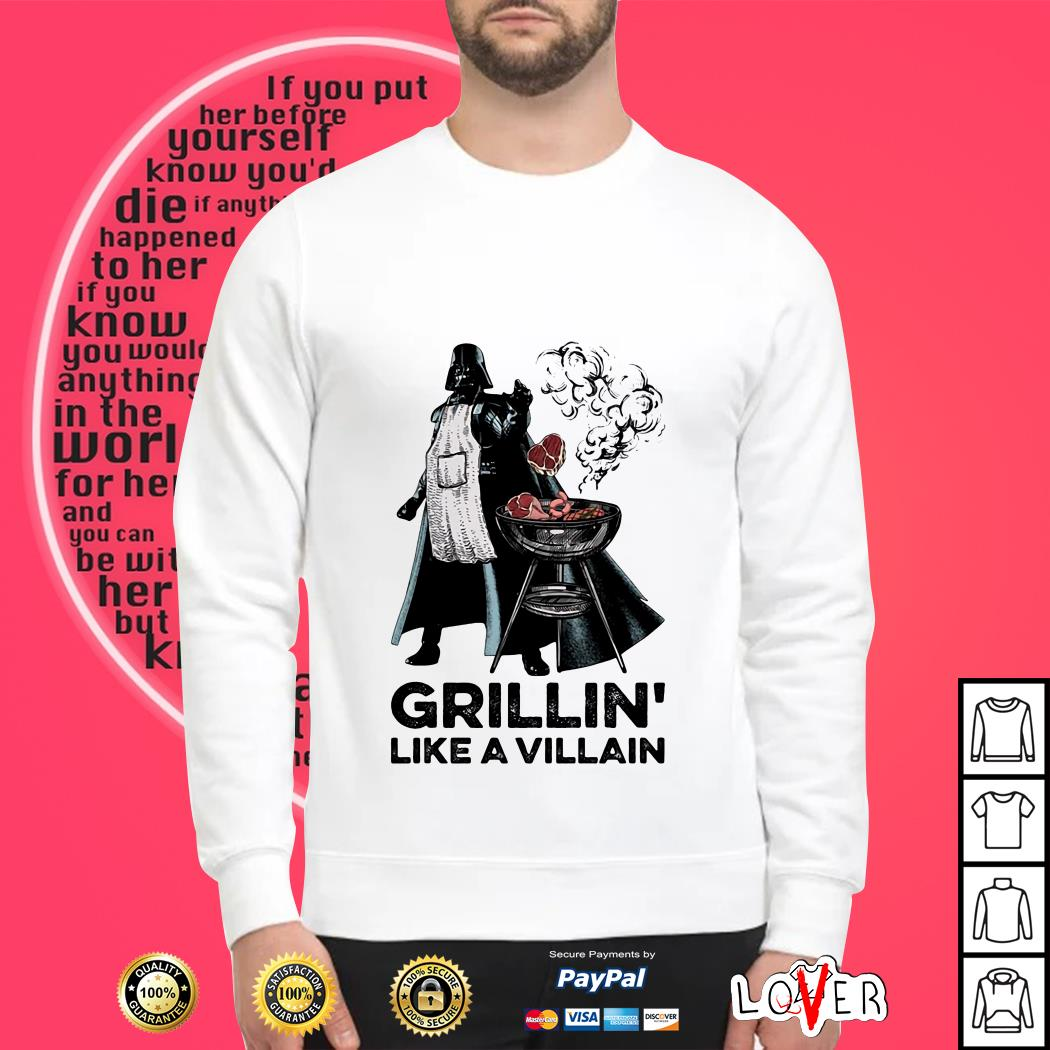 Star Wars Darth Vader grillin' like a villain Sweater