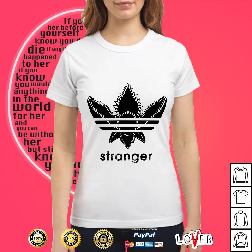 45886614 Hoodie Stranger Things Demogorgon Adidas Ladies tee