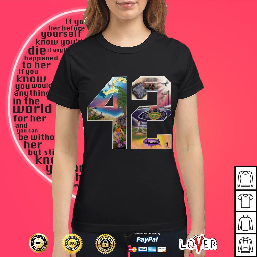 42 Mariano Rivera Foundation Ladies tee