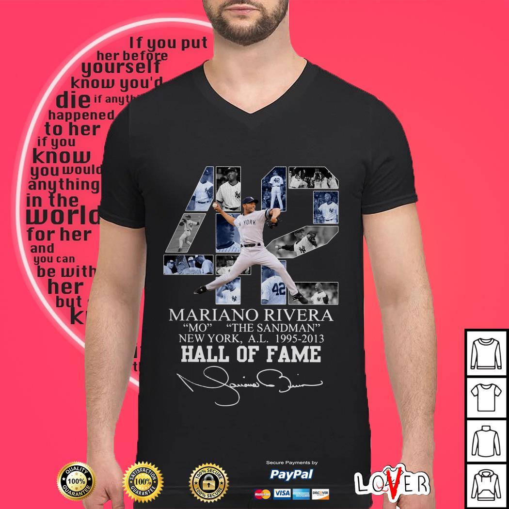 42th Years Of Mariano Rivera New York Yankees 1995-2013 shirt